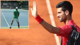 'That's not a bad training partner': World No. 1 Djokovic BACK ON COURT for US Open preparations with former Serbian star (VIDEO)