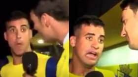Just high on life: Spanish football player forced to publish cocaine test results after controversial post-match interview
