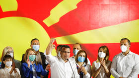 North Macedonia's Social Democrats grab slim victory as hackers attack election commission