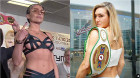 Boxing BOMBSHELLS: Mikaela Mayer wins, sets sights on 'lingerie queen' Ewa Brodnicka for world title