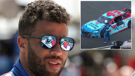 'He thinks he's bigger than the sport': Fans slam Wallace after NASCAR ace drops wrecked bumper onto rival after crash (VIDEO)