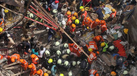 4 killed, dozens trapped in rubble as 2 buildings collapse in India's Mumbai (VIDEOS)