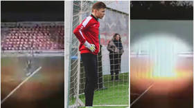 'He feels good': Club plans celebration as teenage Russian goalkeeper left in coma by LIGHTNING strike at training LEAVES hospital
