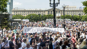Thousands join fresh rally in Russia's Khabarovsk over arrested governor Furgal (PHOTOS, VIDEO)