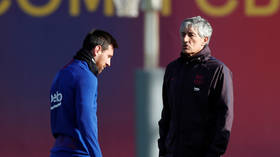 'Of course we can win the Champions League': Beleaguered Barcelona boss Setien defiant despite Messi fears and La Liga flop