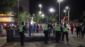 London police threaten RAVE RAIDS after officers attacked at illegal block party in Hackney (VIDEOS)