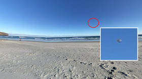 Alien hunter claims UFO was captured on Google Maps hovering over New Zealand beach (POLL)