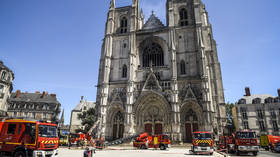 French police detain Rwandan man over Nantes cathedral blaze – reports