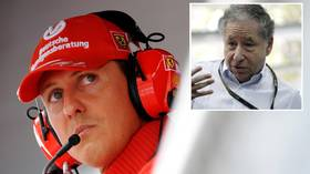 'I hope the world will see him again': F1 boss prays stem cells used on Schumacher's brain can end SEVEN-YEAR public disappearance