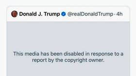 Twitter REMOVES video retweeted by Trump after Linkin Park files copyright claim