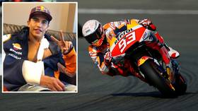 'I will come back even stronger!' MotoGP ace Marc Marquez vows to return as SPECTACULAR crash leaves him with broken arm (VIDEO)