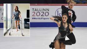 Eteri Tutberidze's daughter Diana Davis to miss beginning of season after breaking leg
