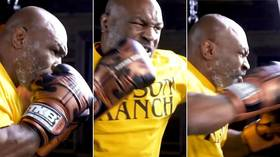'Lend me your ears, or I will eat them': Mike Tyson releases bizarre dance track as walk-out song for Roy Jones Jr comeback fight