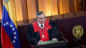 US puts $5 MILLION bounty on president of Venezuela's supreme court, accusing him of 'corruption'