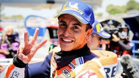 Miraculous Marquez: MotoGP champ Marc Marquez WILL RACE this weekend, one week after BREAKING HIS ARM at the same circuit (VIDEO)