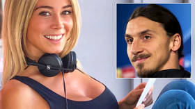 Love match? Diletta Leotta sends Italian gossip mags into MELTDOWN after meeting Zlatan Ibrahimovic for dinner