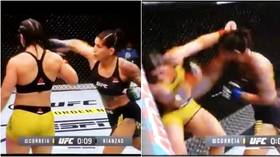 'What happened there?!' UFC fighter Correia gets pummelled after turning back on rival mistakenly thinking round is over (VIDEO)