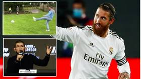 Real Madrid captain Ramos praises McGregor football skills, invites Irishman to train at club supported by rival Khabib (VIDEO)