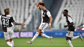 Ronaldo scores as Juventus seal NINTH straight Serie A title with victory over Sampdoria