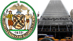 'Plumbing the depths of ignorance': New York Times mocked mercilessly after implying object on NY city seal is a NOOSE (it isn't)
