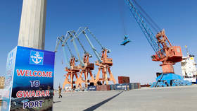 Pakistan starts transit trade via new seaport connected to China's Belt & Road