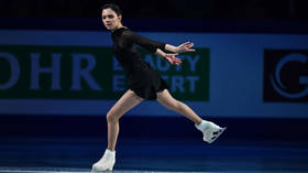 'Real life hits hard too': Evgenia Medvedeva says her exhibition program was dedicated to 'painful' first love