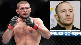 April superfight? Khabib Nurmagomedov says he wants to face Georges St-Pierre in APRIL 2021