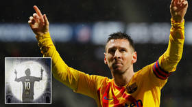 'It's easier to move a CATHEDRAL than Messi': Club owner's TV station shows Messi on Milan CHURCH as ex-boss claims dad backs move