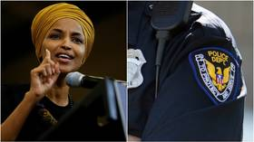 Ilhan Omar roasted for idea to replace police at schools with mental care workers; What if there's a shooting? people online ask