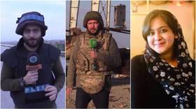 Journalists from Russia, Syria & India win RT's Khaled Alkhateb International Memorial Awards for warzone reporting