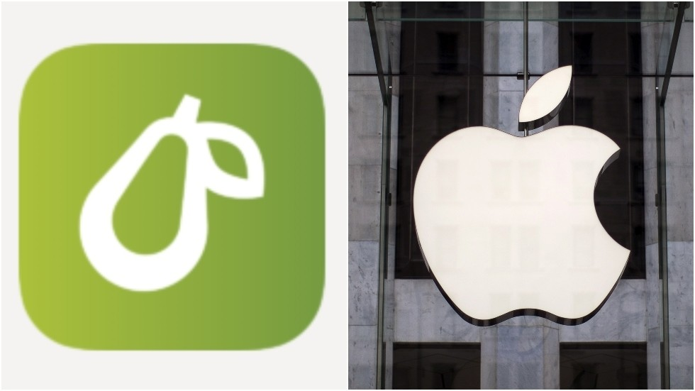'Save Pear from Apple': Small app developer battles IT giant to keep its fruit logo