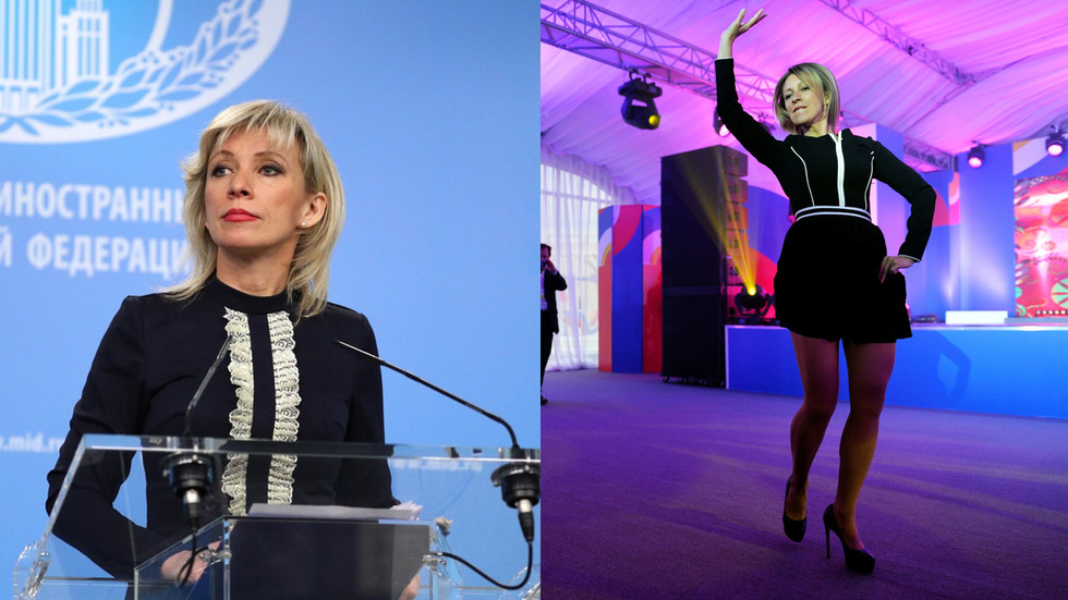 Dancing queen & no-nonsense spokesperson: Maria Zakharova's 5 years as Russian Foreign Ministry's tongue-in-chief (VIDEO)