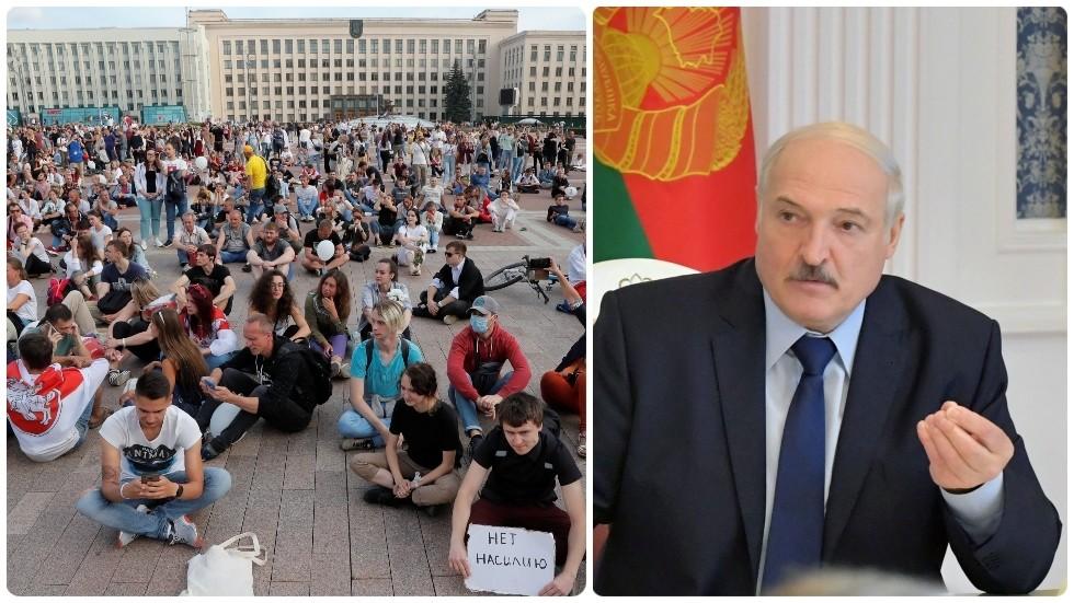 Belarus leader Alexander Lukashenko in trouble