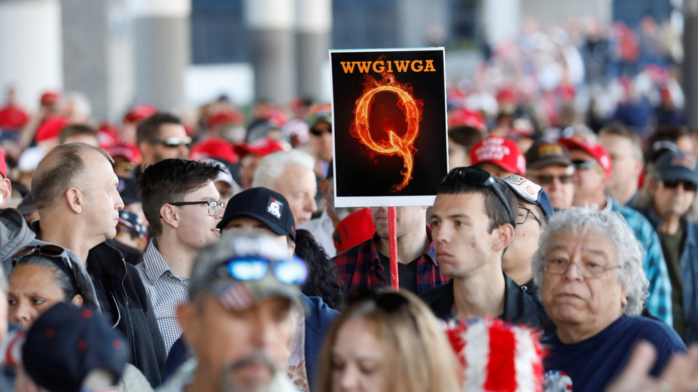 Facebook purges & restricts THOUSANDS of QAnon accounts – plus antifa & militia – stretching definition of 'dangerous individuals'