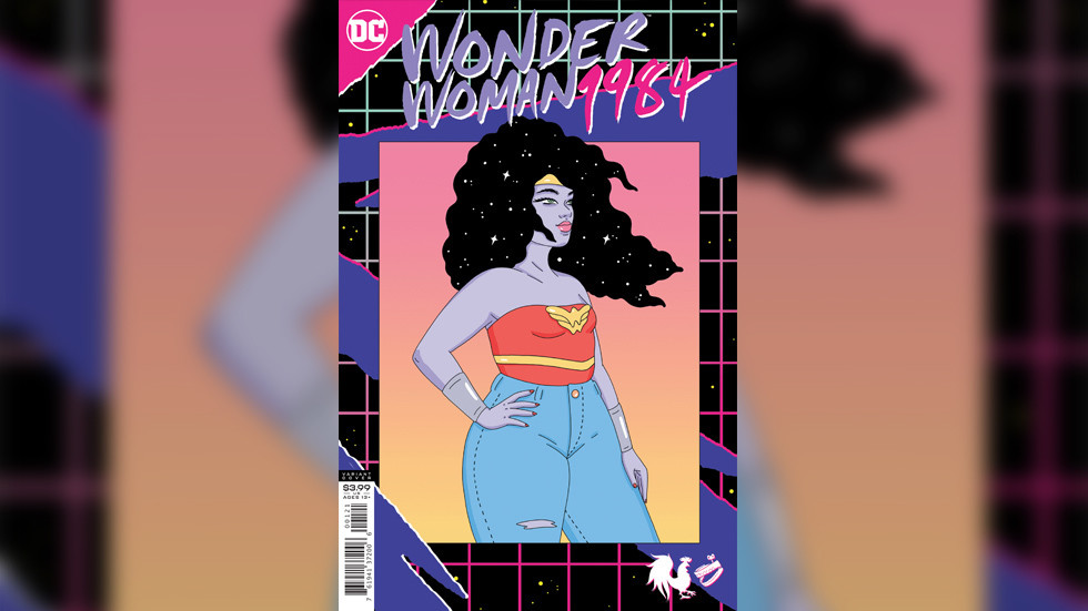 This 'radical' new version of Wonder Woman looks like she's stopped battling evil and is instead fighting an ice-cream addiction