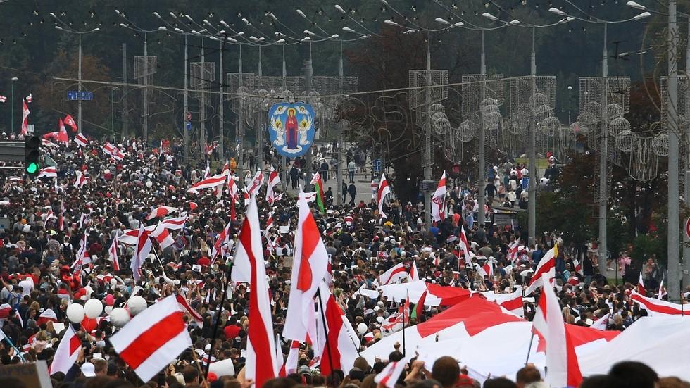 Belarus leader warns of crackdown on protests