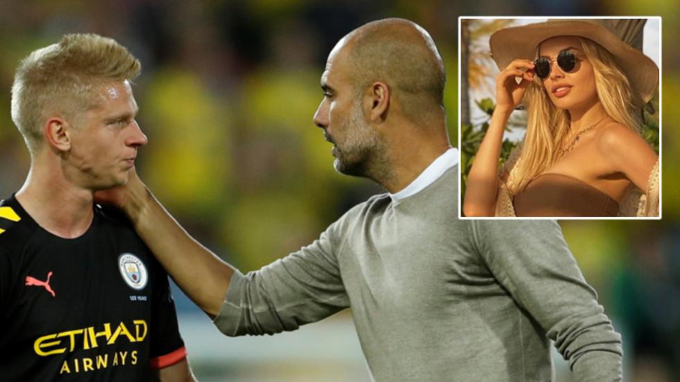 'She is a MASSIVE fan': Manchester City star Zinchenko ...