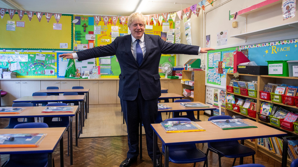 Missing classes 'more damaging' than Covid: Johnson urges parents to send kids back to school as govt warns of fines for absence