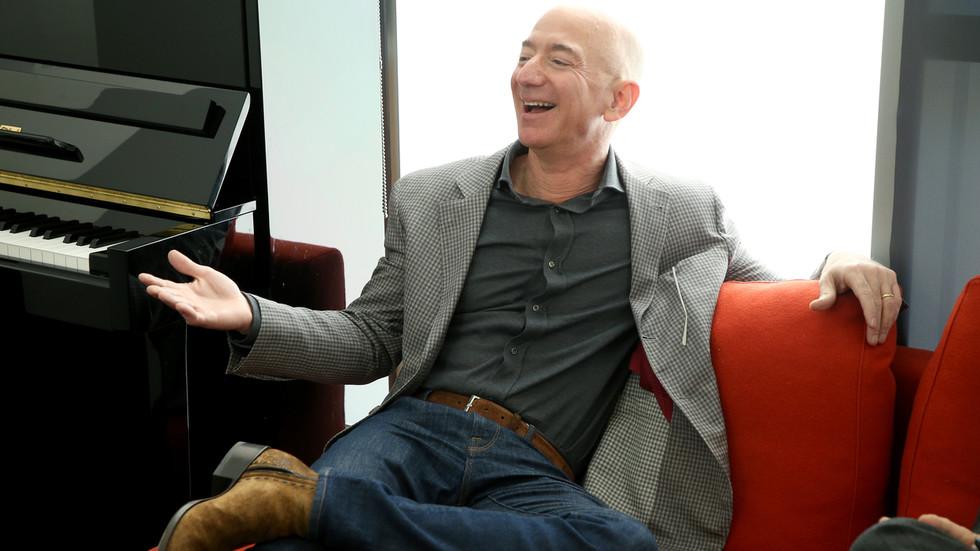 Pandemic profiteer: Jeff Bezos' fortune skyrockets to nearly $200 BILLION