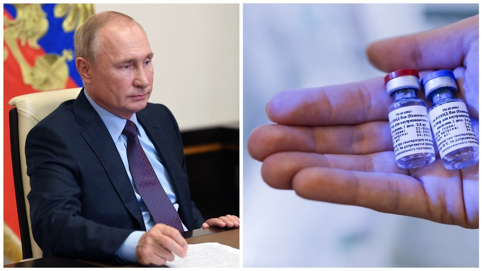 'She's an adult, she simply told me': Putin says daughter VOLUNTEERED to take part in trials of world's 1st Covid-19 vaccine