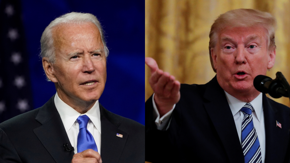 Ahead of a vital election, Trump has called on Biden to take a drug test. Why don't BOTH old guys take this idea seriously?