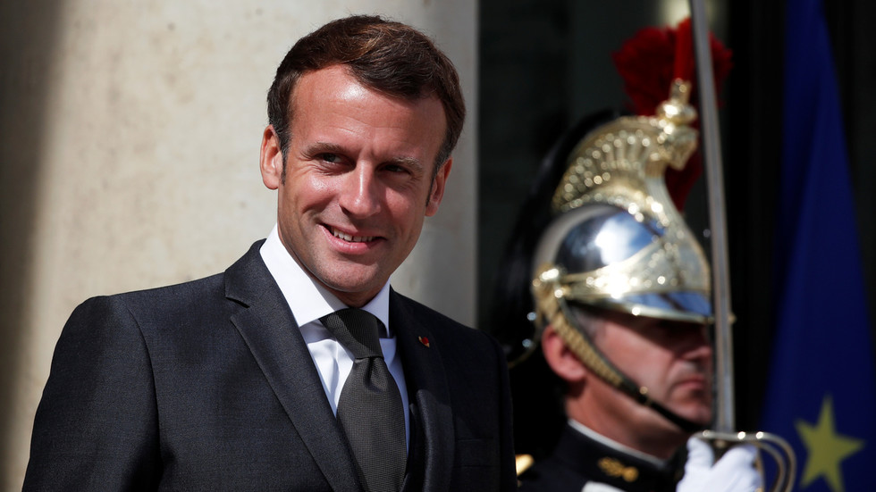 Time to decolonize Macron! French president hooks up with 85-year-old singing legend to impose 'new political order' on Lebanon