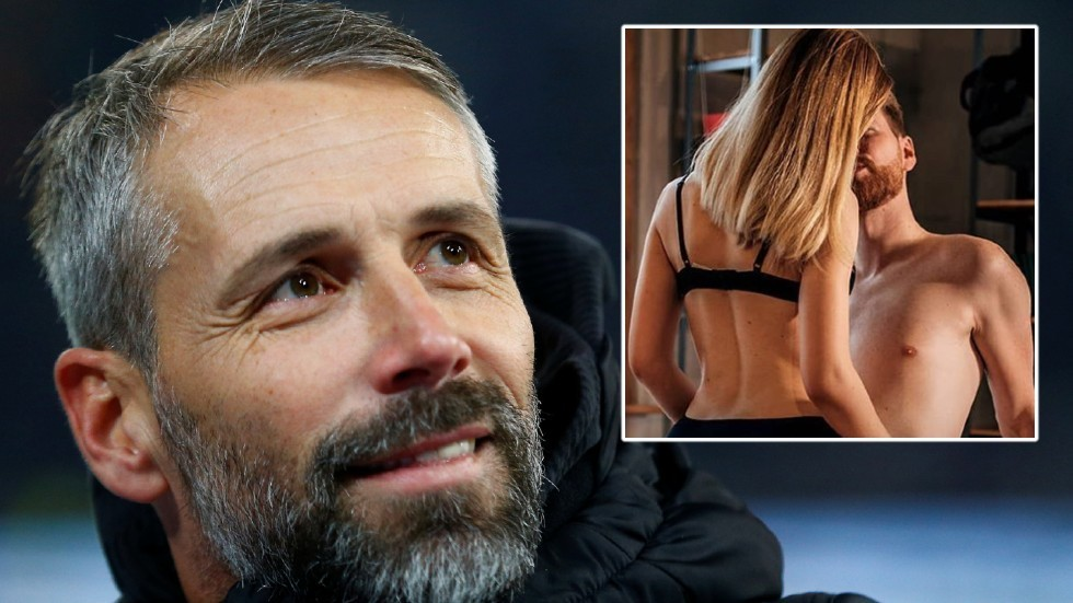 Sexy football: EROTIC site hails handsome boss 'the German George Clooney' as randy fans admit to 'LOVING & TENDER' sex sessions