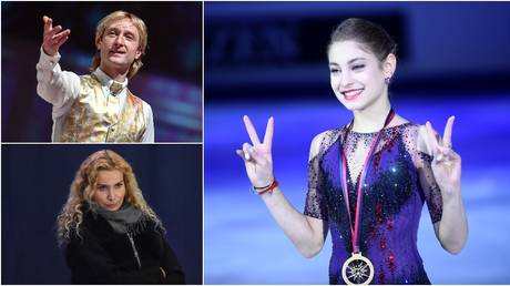 'There will be MORE sensations': Figure skating legend Plushenko speaks after Kostornaia jumps camp from Tutberidze