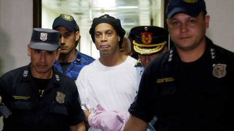 Brazilian icon Ronaldinho was arrested in Paraguay in March on suspicion of using fake documents. © Reuters