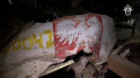 Moscow calls Polish claims it planted explosives on crashed president Kaczynski's plane 'endless fantasy-making'