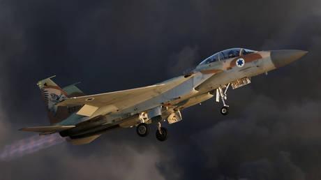 An Israeli Air Force F-15 fighter jet. © Reuters / Amir Cohen