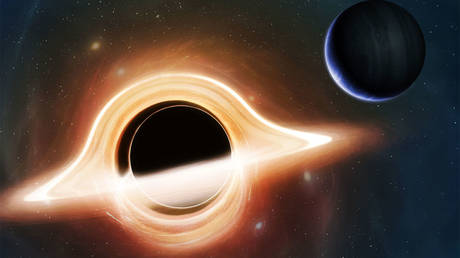 Scientists say supermassive black holes could form 'blanets' in their neighborhood. © MARK GARLICK/SCIENCE PHOTO LIBRARY