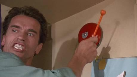 'Kindergarten Cop'(1990) Dir: Ivan Reitman ©️ Imagine Entertainment; Universal Pictures