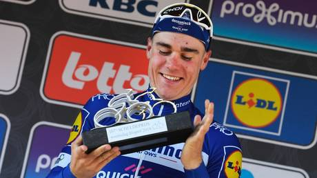 Recovering: Cyclist Fabio Jakobsen